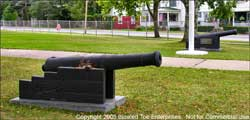 British Cannon in Front of Armory, Whitehall, NY