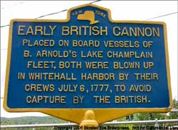 Early British Cannon Historical Sign