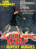 """The Girl on the Barge"" (1929) Movie Poster"