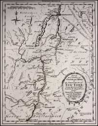 1775 Charlotte/Albany County Map