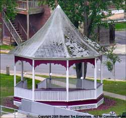 Bandstand in Riverside Park, Whitehall, NY