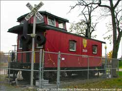D&H Caboose, Skenesborough Museum, Whitehall, NY